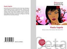 Capa do livro de Paola Vaprio