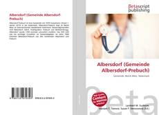 Buchcover von Albersdorf (Gemeinde Albersdorf-Prebuch)
