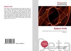 Buchcover von Robert Firth