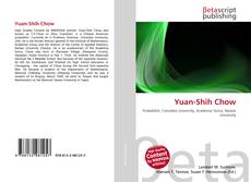 Bookcover of Yuan-Shih Chow