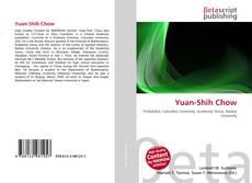 Yuan-Shih Chow的封面