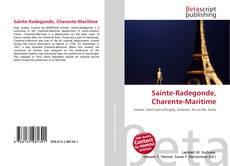 Bookcover of Sainte-Radegonde, Charente-Maritime