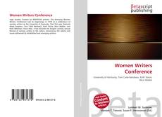 Women Writers Conference kitap kapağı