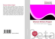 Couverture de Women Writers Project