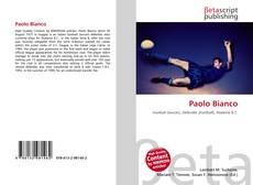 Capa do livro de Paolo Bianco