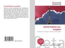 Portada del libro de Sainte-Sabine-sur-Longève