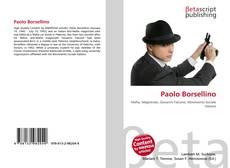 Bookcover of Paolo Borsellino