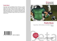 Bookcover of Paolo Buso