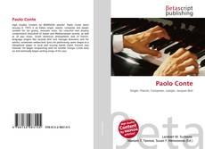 Buchcover von Paolo Conte