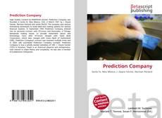 Bookcover of Prediction Company