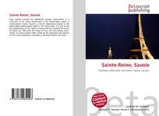 Sainte-Reine, Savoie的封面