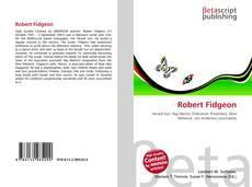 Bookcover of Robert Fidgeon