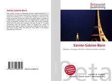 Обложка Sainte-Sabine-Born