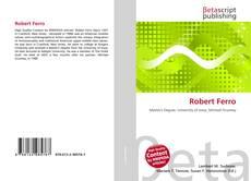 Capa do livro de Robert Ferro