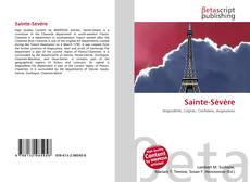 Bookcover of Sainte-Sévère