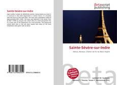 Portada del libro de Sainte-Sévère-sur-Indre