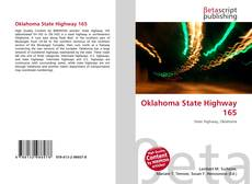 Bookcover of Oklahoma State Highway 165