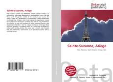 Bookcover of Sainte-Suzanne, Ariège