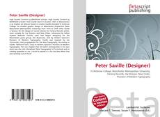 Обложка Peter Saville (Designer)