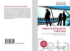 Capa do livro de Sodom and Gomorrah (1963 Film)