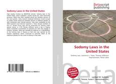 Bookcover of Sodomy Laws in the United States