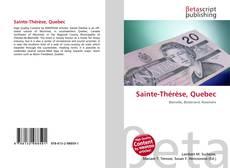 Bookcover of Sainte-Thérèse, Quebec