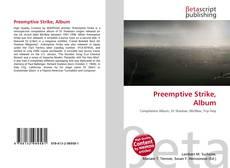 Bookcover of Preemptive Strike, Album