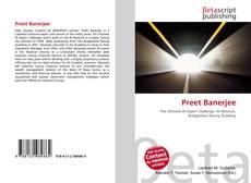 Preet Banerjee的封面