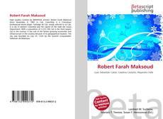 Robert Farah Maksoud kitap kapağı