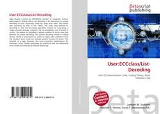Bookcover of User:ECCclass/List-Decoding