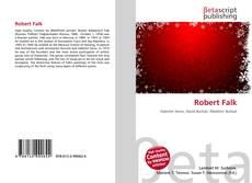 Buchcover von Robert Falk