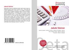 Buchcover von Jakob Steiner