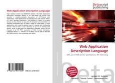 Web Application Description Language kitap kapağı