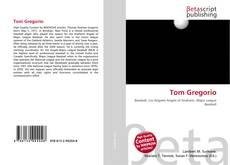 Capa do livro de Tom Gregorio