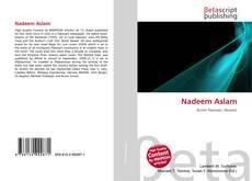 Bookcover of Nadeem Aslam