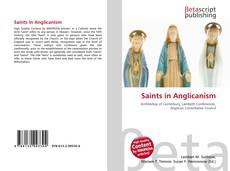 Saints in Anglicanism kitap kapağı