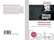 Capa do livro de Oklahoma State University–Tulsa