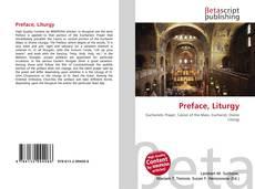 Bookcover of Preface, Liturgy