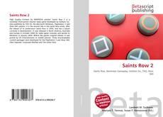 Saints Row 2 kitap kapağı