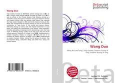 Capa do livro de Wang Duo