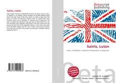 Saints, Luton kitap kapağı