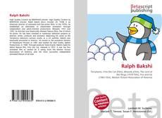 Bookcover of Ralph Bakshi