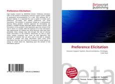 Portada del libro de Preference Elicitation