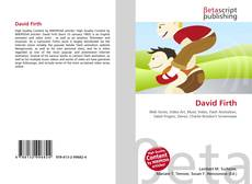 Buchcover von David Firth