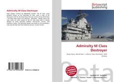 Couverture de Admiralty M Class Destroyer