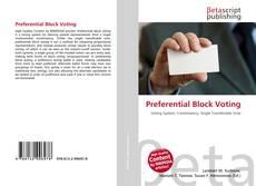 Preferential Block Voting的封面