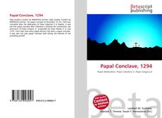 Papal Conclave, 1294的封面