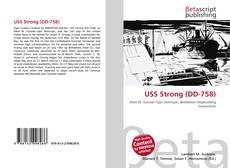 Buchcover von USS Strong (DD-758)