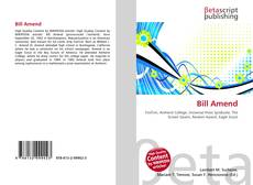 Bookcover of Bill Amend