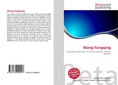 Bookcover of Wang Fangqing
